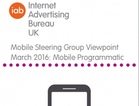 Mobile Steering Group Viewpoint March 2016: Mobile Programmatic