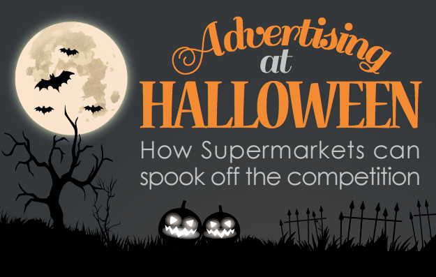 Infographic: Advertising at Halloween